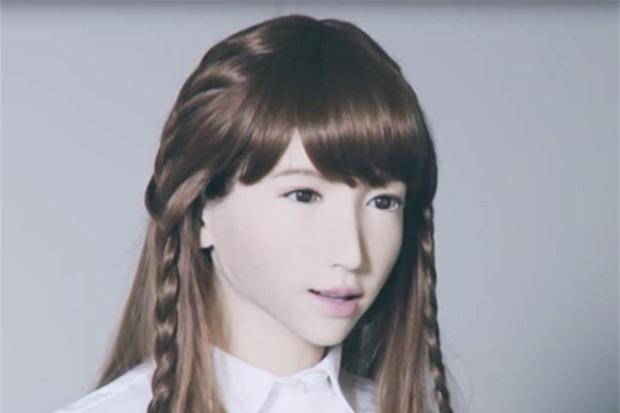 Erica được tuyên bố là robot xinh đẹp và giống người nhất trên thế giới. Ảnh: Theguardian