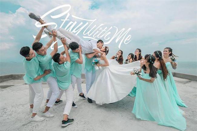 Cả thế giới ra mà xem: Đám cưới sau 9 năm yêu với màn rước dâu tăng động cực chất của cặp đôi Sài Gòn - Ảnh 10.