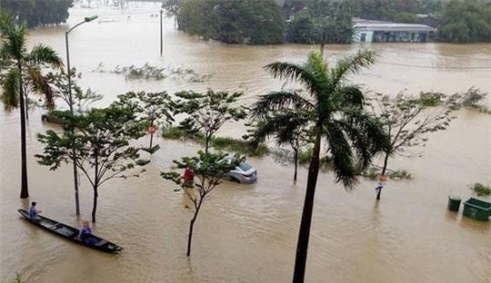 Sự thật chuyện nhà Quang Linh ngập sâu trong nước lũ-1