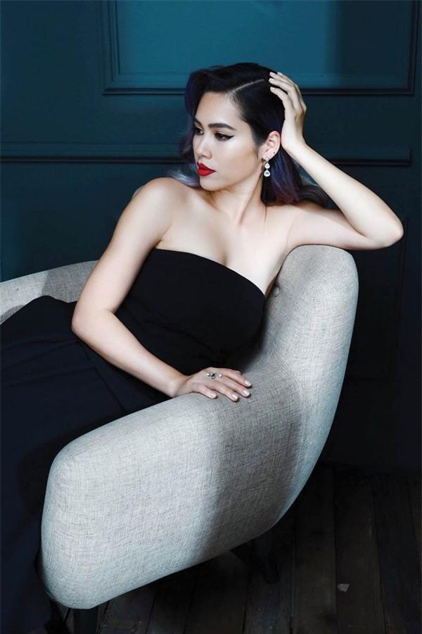 Xuân Lan nhận định Á hậu Hoàng My phát biểu hung hăng trong cơn say-2