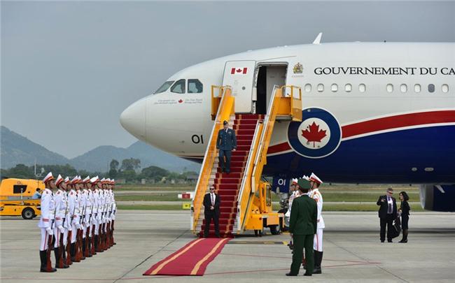 Những hình ảnh đầu tiên của Thủ tướng Trudeau tại Hà Nội
