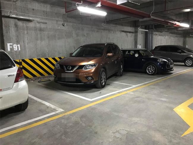 Vào hầm để xe, tài xế giật mình với cảnh tượng trước mắt - Ảnh 2.
