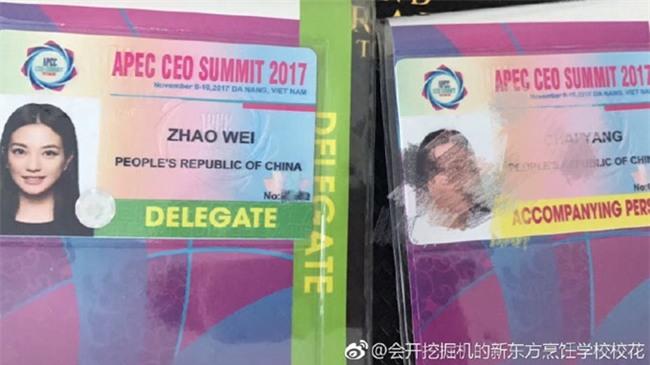 Tiểu Yến Tử Triệu Vy đến Đà Nẵng dự APEC 2017?