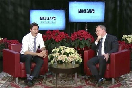 Phong cach ngoai giao bang…tat cua Thu tuong Canada Justin Trudeau - Anh 6