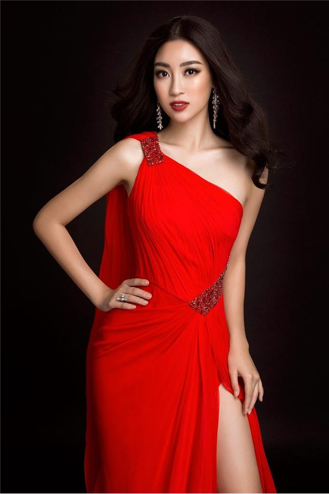 Mỹ Linh quyến rũ tựa nữ thần trong loạt trang phục dạ hội mang đến Miss World 2017 - Ảnh 6.