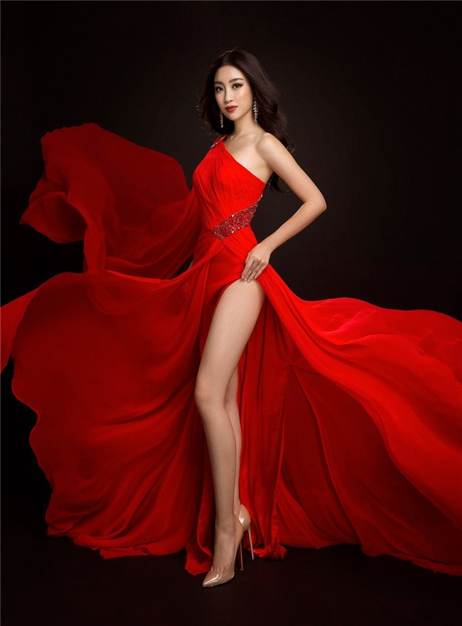 Mỹ Linh quyến rũ tựa nữ thần trong loạt trang phục dạ hội mang đến Miss World 2017 - Ảnh 7.