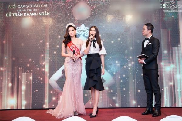 Hoa hậu Hoàn cầu Khánh Ngân: Không đủ tiền để mua giải khi lông mi giả còn phải đi mượn thí sinh khác-3