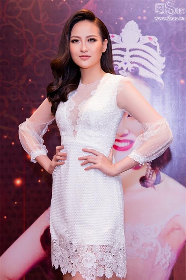 Hoa hậu Hoàn cầu Khánh Ngân: Không đủ tiền để mua giải khi lông mi giả còn phải đi mượn thí sinh khác-4