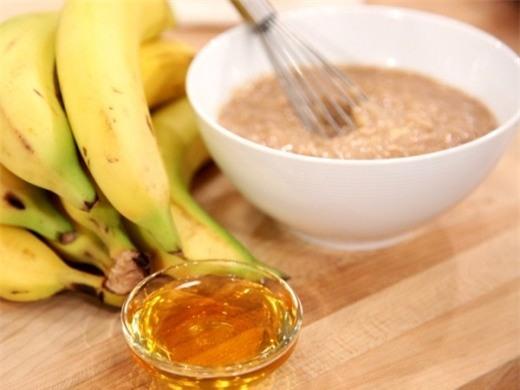 Kết quả hình ảnh cho Mặt nạ dưỡng ẩm dành cho da khô từ chuối và trái đào