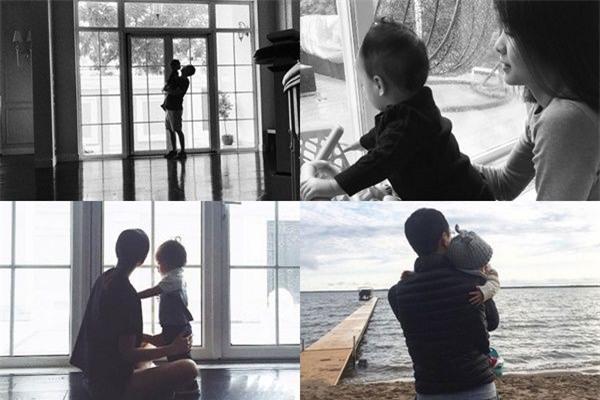 Những hình ảnh hạnh phúc của vợ chồng Tăng Thanh Hà bên con. - Tin sao Viet - Tin tuc sao Viet - Scandal sao Viet - Tin tuc cua Sao - Tin cua Sao