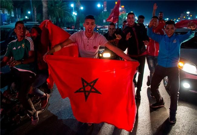 Morocco du World Cup, CDV gay bao loan o thu do Bi hinh anh 5