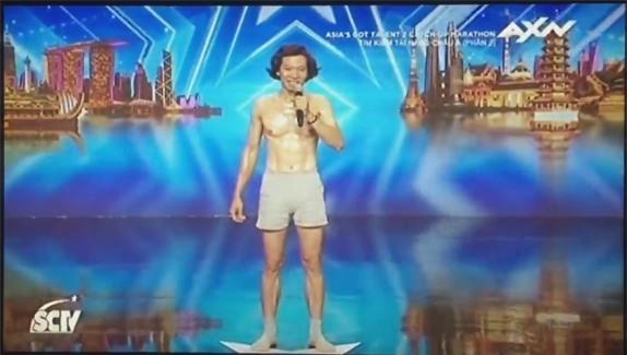 Chàng trai người Việt đi thi Asias Got Talent bị dân mạng chỉ trích là trò cười trên truyền hình - Ảnh 3.