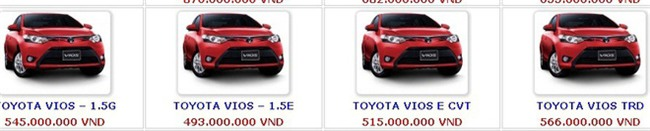 Ô tô 'náo loạn' giảm giá sốc: Loạt xe 'hot' chỉ ở mốc 400 triệu đồng  - Ảnh 2.