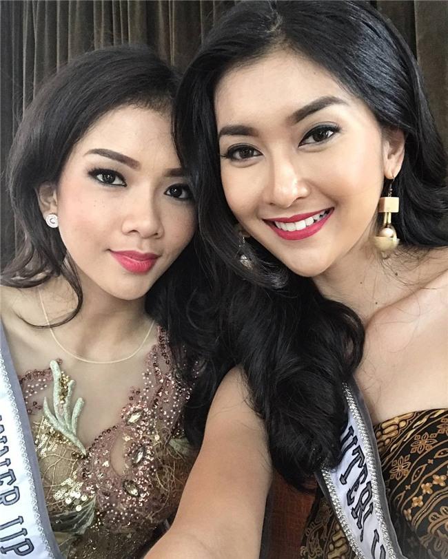 Nhan sắc xinh đẹp của đại diện Indonesia, cô gái đánh bại hơn 70 đối thủ đăng quang Miss International 2017 - Ảnh 12.