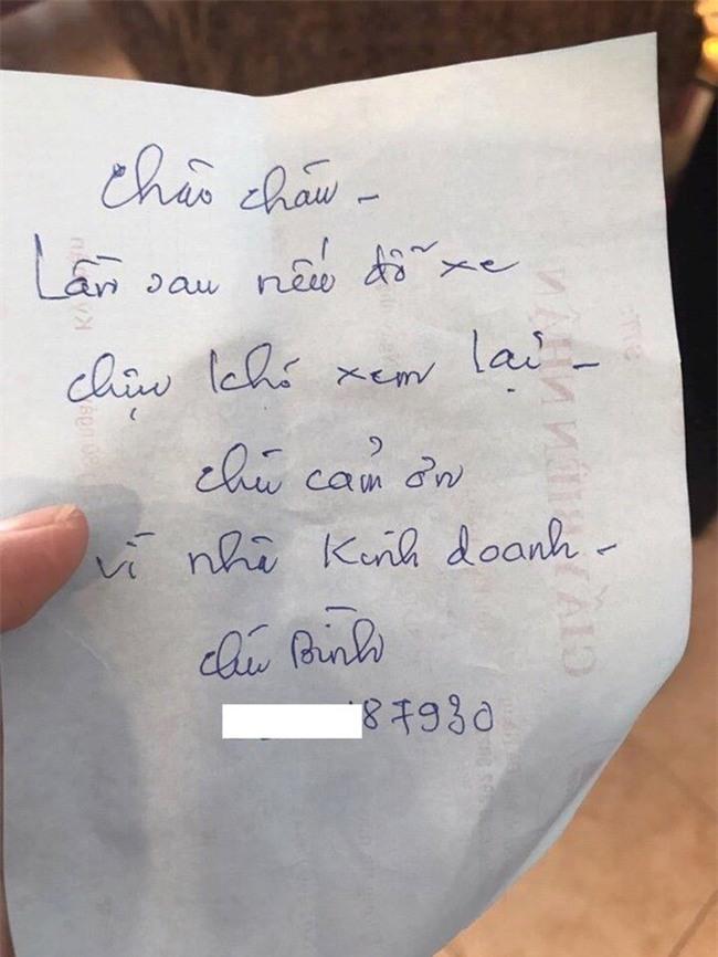 Lời nhắn gửi ý nghĩa tới chủ ôtô đỗ chắn cửa nhà 'gây bão' mạng - ảnh 1