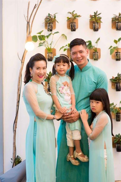 Hai cô con gái nhỏ cũng là sợi dây gắn kết tình yêu của vợ chồng Anh Thơ - Bình Minh. - Tin sao Viet - Tin tuc sao Viet - Scandal sao Viet - Tin tuc cua Sao - Tin cua Sao