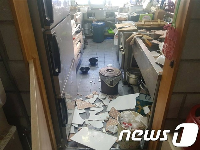 Hàn Quốc: Động đất 5,5 độ richter mạnh thứ 2 trong lịch sử, người dân hoảng sợ tháo chạy - Ảnh 10.