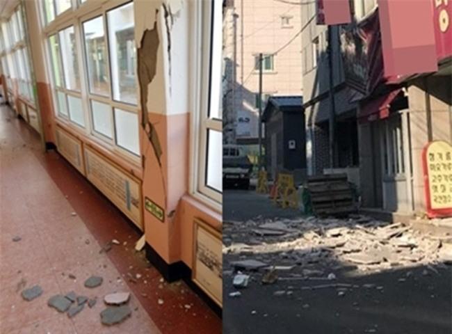 Hàn Quốc: Động đất 5,5 độ richter mạnh thứ 2 trong lịch sử, người dân hoảng sợ tháo chạy - Ảnh 2.