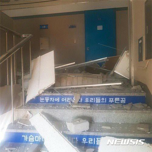 Hàn Quốc: Động đất 5,5 độ richter mạnh thứ 2 trong lịch sử, người dân hoảng sợ tháo chạy - Ảnh 4.