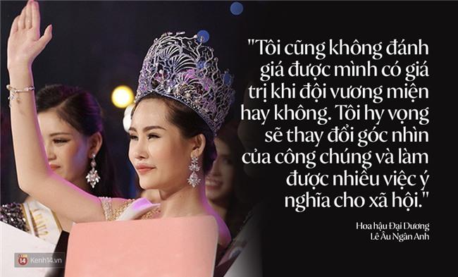 Những phát ngôn hiếm hoi của Hoa hậu Đại dương Ngân Anh tại buổi làm việc cùng báo chí - Ảnh 5.