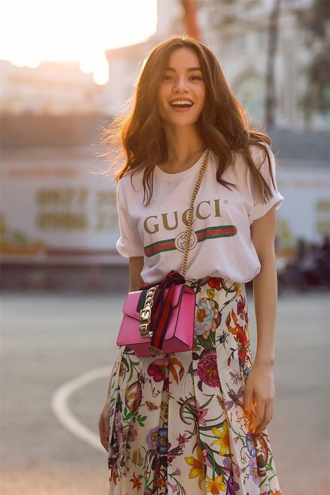 Đơn giản hết mức, nhưng áo phông của Gucci vẫn được các sao Việt và các fashionista thi nhau mặc - Ảnh 1.