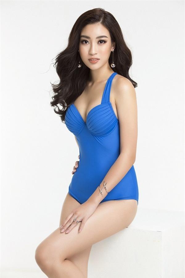 Đỗ Mỹ Linh diện bikini khoe đường cong nóng bỏng trước chung kết Miss World 2017-1