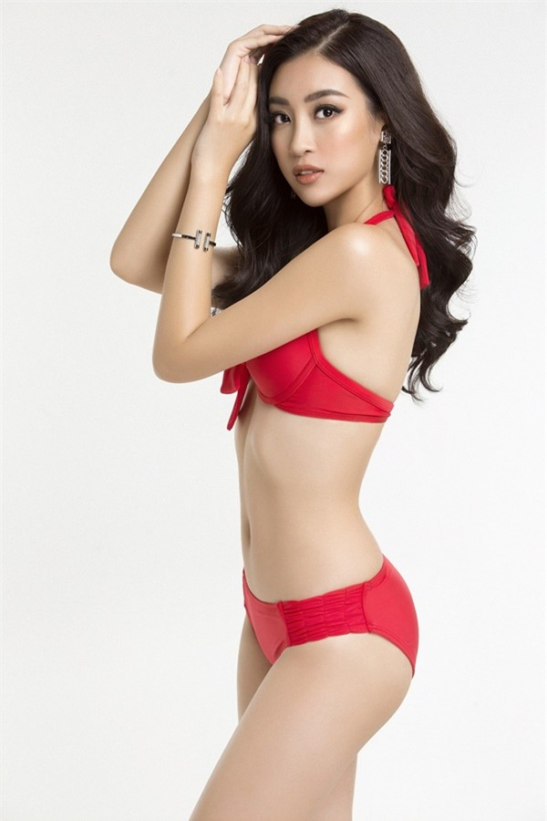 Đỗ Mỹ Linh diện bikini khoe đường cong nóng bỏng trước chung kết Miss World 2017-5