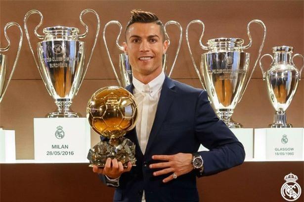 Ronaldo muốn giành 7 Quả bóng vàng và có 7... đứa con - Ảnh 2.