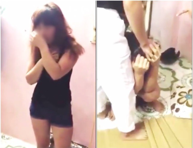 Bị đánh ghen vì cặp bồ với người đã có gia đình, cô gái trẻ vờ ăn năn xin lỗi rồi bất ngờ trốn vào phòng cố thủ - Ảnh 2.