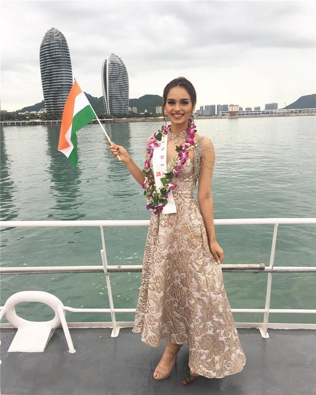 Nhan sắc ngắm là mê của người đẹp Ấn Độ vừa đăng quang Hoa hậu Thế giới 2017-7