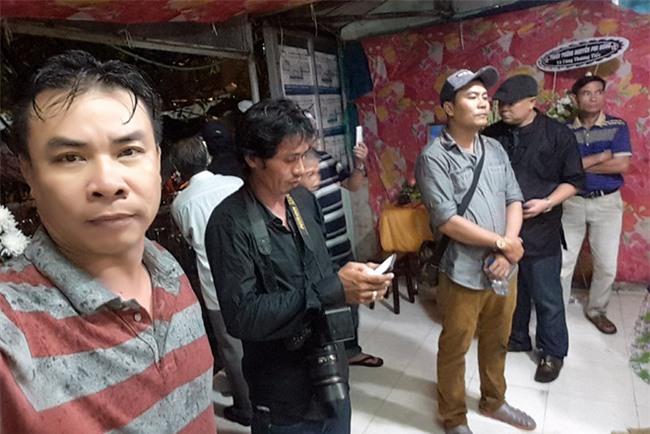 Phut cuoi tien biet dien vien Nguyen Hoang trong ngay mua bao hinh anh 4