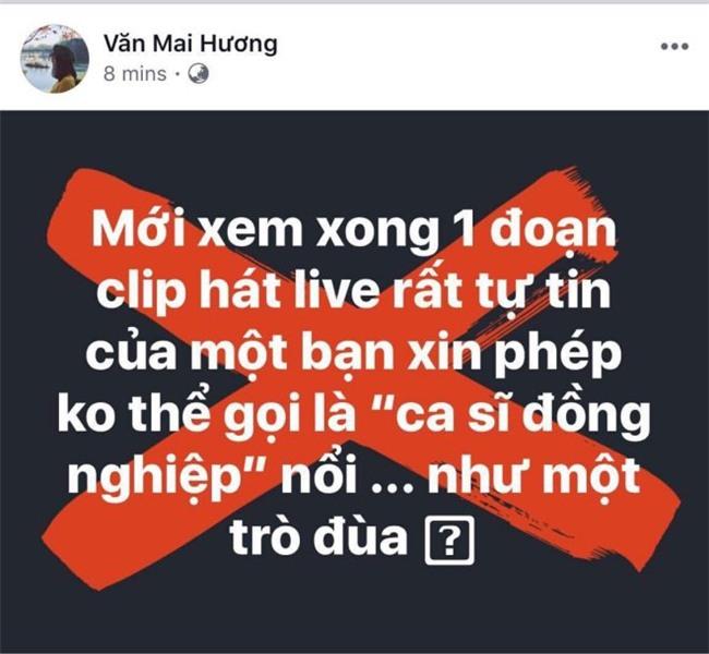 """van mai huong """"da xeo"""" giong hat live cua chi pu: mot su si nhuc thuc su cho nghe - 1"""