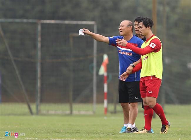 HLV Park Hang-seo len ke hoach chuan bi cho VCK U23 chau A 2018 hinh anh 1