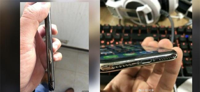iPhone X mới dùng vài tuần đã bong tróc nham nhở, không chỉ một mà rất nhiều người gặp phải - Ảnh 1.