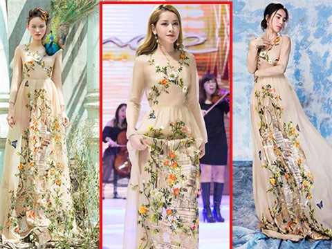 Bị chê hát dở nhưng về khoản thời trang, Chi Pu không có đối thủ dù liên tục đụng hàng-5