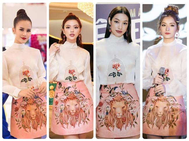 Bị chê hát dở nhưng về khoản thời trang, Chi Pu không có đối thủ dù liên tục đụng hàng-6