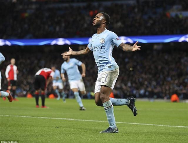 Sterling ghi bàn thắng duy nhất giúp Man City giành chiến thắng