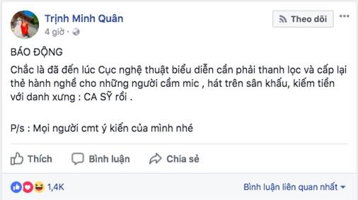 Ca sĩ phản đối chuyện đề nghị bỏ phiếu cấm Chi Pu đi hát: Không thích đứng chung sân khấu với họ thì đừng nhận lời diễn chung - Ảnh 2.