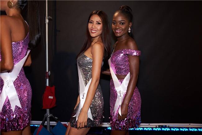 Nguyễn Thị Loan tự tin tỏa sáng trong đêm bán kết Hoa hậu Hoàn vũ 2017 vẫn trượt top 15 bình chọn của Missosology - Ảnh 7.
