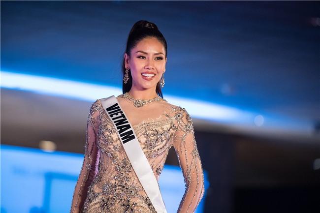 Nguyễn Thị Loan tự tin tỏa sáng trong đêm bán kết Hoa hậu Hoàn vũ 2017 vẫn trượt top 15 bình chọn của Missosology - Ảnh 8.