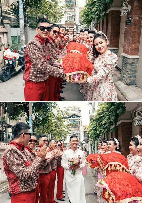 Những lễ đính hôn phá cách của các cặp thánh lầy khuấy đảo mùa cưới 2017 - Ảnh 13.