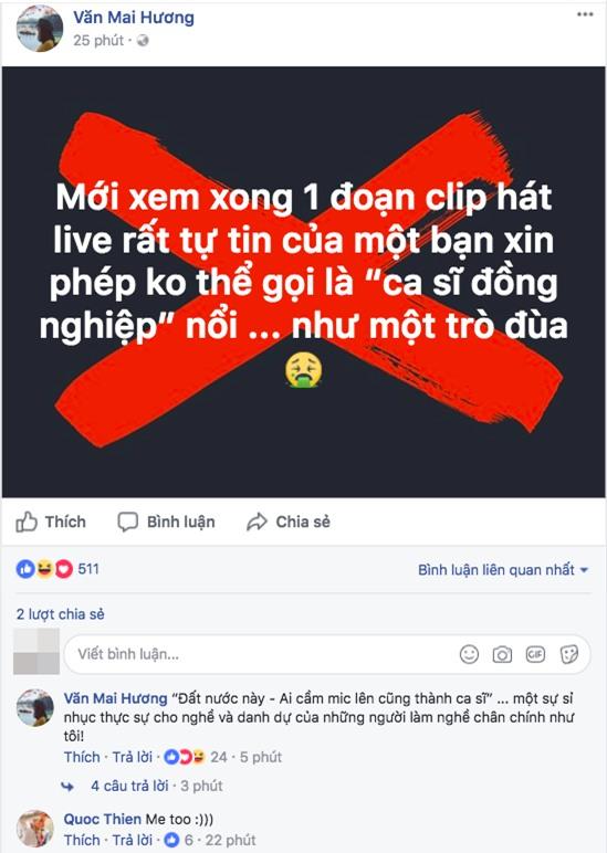 Clip: Sau phát ngôn ồn ào, Văn Mai Hương livestream bức xúc chuyện bị người xưng là fan Chi Pu dọa giết - Ảnh 2.