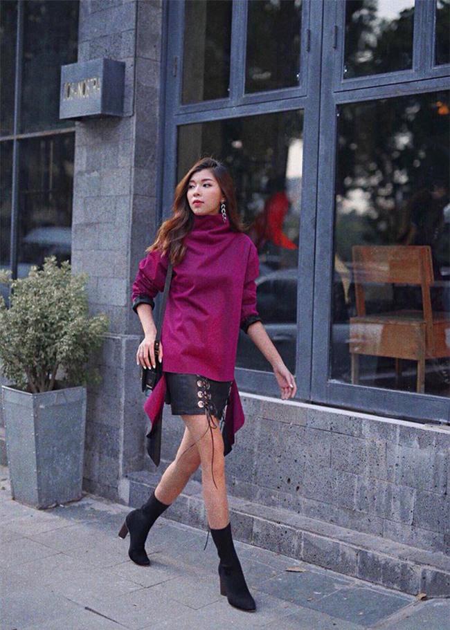 Street style sao Việt: Kỳ Duyên khoe chân dài bất tận, Angela Phương Trinh mặc váy xinh nhưng lại ngồi kém duyên - Ảnh 11.