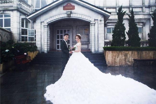 Ảnh cưới lãng mạn của mỹ nhân chuyển giới Lâm Khánh Chi và bạn trai kém 8 tuổi - Ảnh 1.