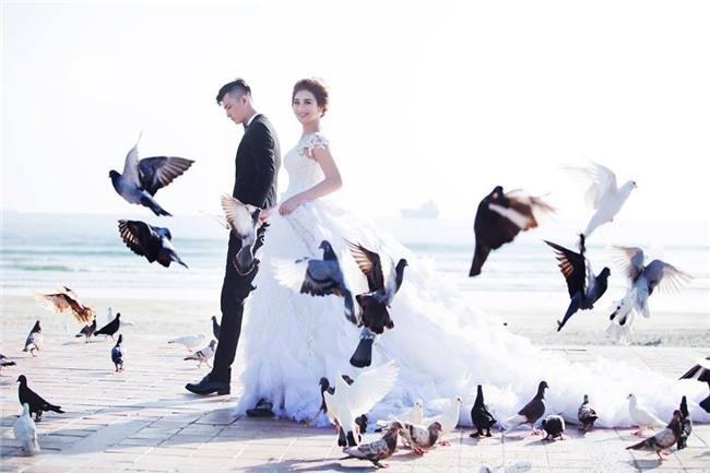 Ảnh cưới lãng mạn của mỹ nhân chuyển giới Lâm Khánh Chi và bạn trai kém 8 tuổi - Ảnh 7.