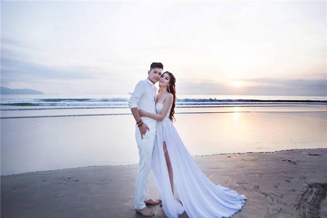 Ảnh cưới lãng mạn của mỹ nhân chuyển giới Lâm Khánh Chi và bạn trai kém 8 tuổi - Ảnh 8.