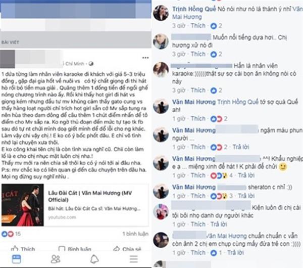 Văn Mai Hương tức giận khi bị tố làm nhân viên karaoke đi khách với giá 3 - 5 triệu đồng-2