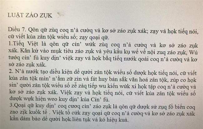 """Tiến sĩ Ngôn ngữ nói gì trước đề xuất cải tiến bảng chữ cái, """"Tiếng Việt"""" thành """"Tiếq Việt""""; Luật giáo dục thành Luật záo zụk? - Ảnh 2."""