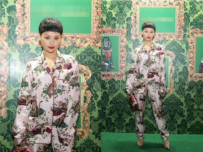 Miu Lê càng ngày càng khác lạ từ gương mặt cho đến gu thời trang xấu thảm-1
