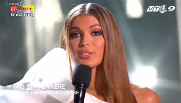 Đương kim Hoa hậu Hoàn vũ Iris Mittenaere xuất hiện lộng lẫy-2